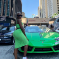 Photos: Fella Makafui Puts Her Huge Backside On Display As She Goes On Another Holiday In Dubai